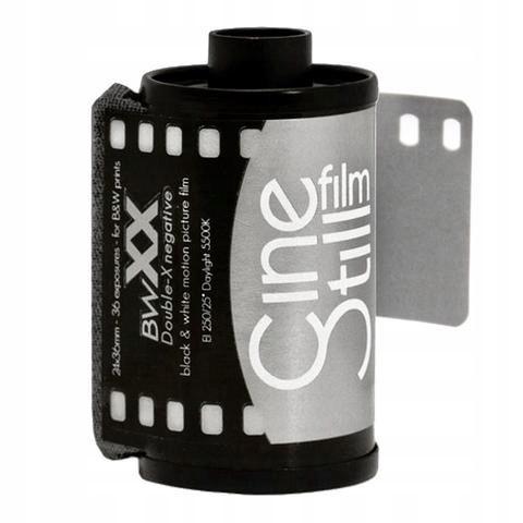 Negatyw CineStill film Kodak BWxx Double-X 250/36