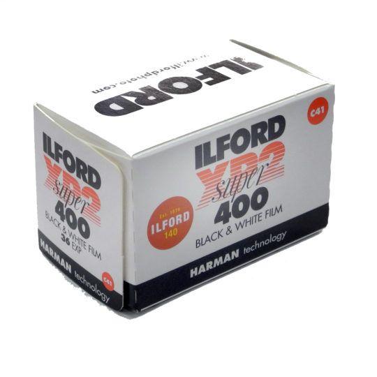 Film ILFORD XP2 super 400 black & white