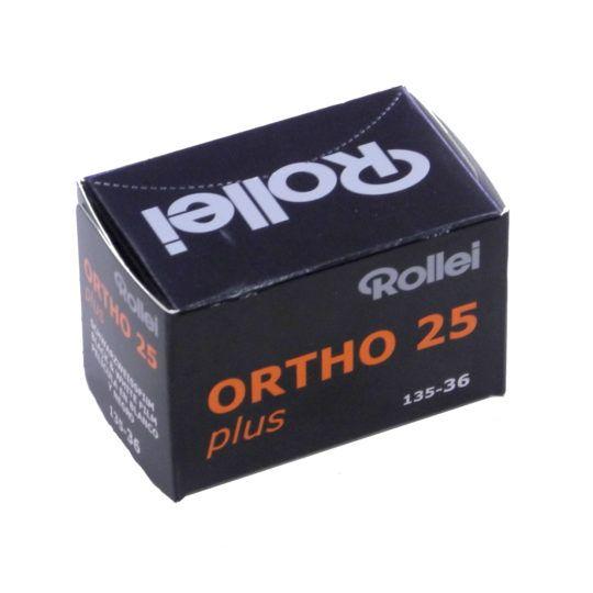 Rollei B&W ORTHO PLUS 25