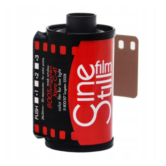 FILM CineStill C-41 800/36 Tungsten