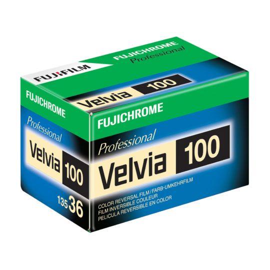 FILM pozytywowy Fujichrome Professional VELVIA 100 135 36