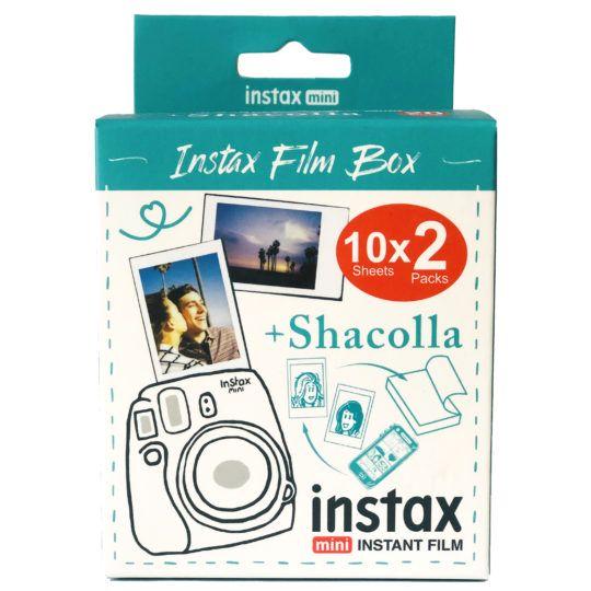 Wkład Instax Mini 2x10szt + SHACOLLA