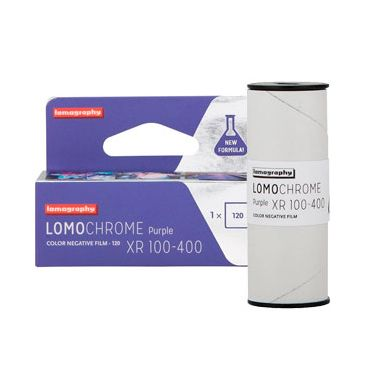 FILM LOMOCHROME Purple XR 100-400 120