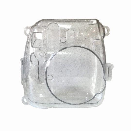 Przezroczysty pokrowiec Instax Mini 9 z brokatem