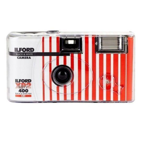 Aparat jednorazowy XP2 super 400 zdjęća czarno-białe
