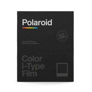 Wkład film POLAROID Color i-Type Czarne ramki