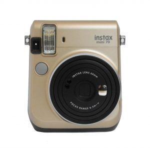 Aparat Fujifilm Instax Mini 70 złoty