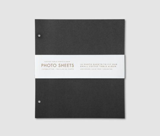 Karty do albumu segregatora 10 sztuk 21 x 28 cm czarne