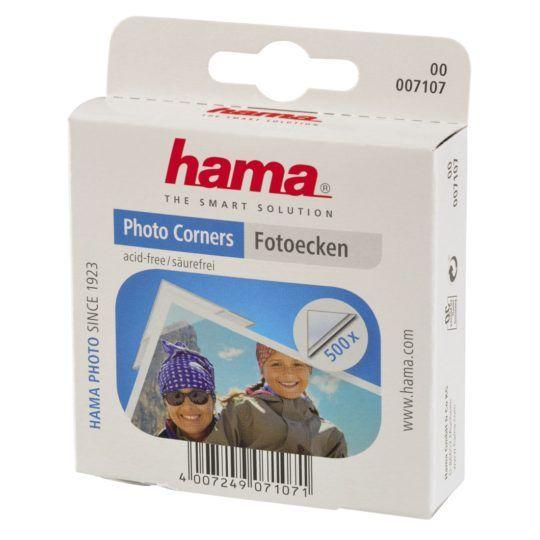 Hama Album - Narożniki do zdjęć Przylepce 500 szt