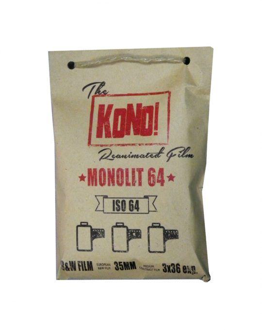 3 x Film klisza KONO Monolit 64 135/36