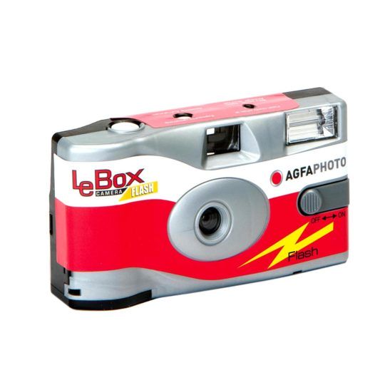 Aparat jednorazowy AGFA LE BOX Flash ISO 400/27