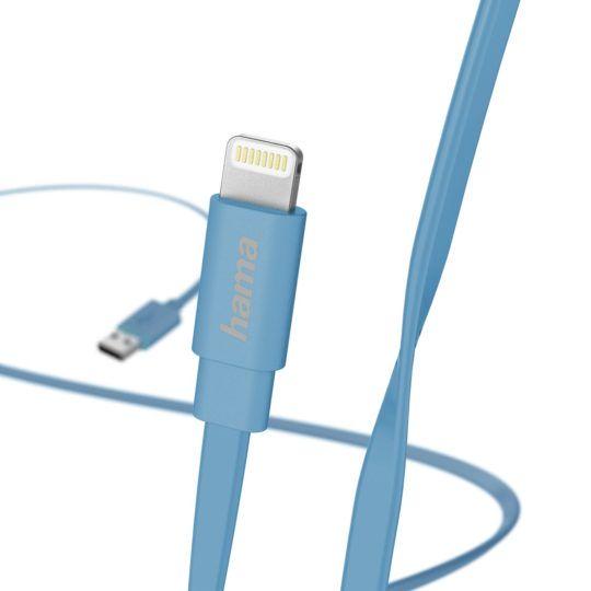 Kabel Ładujący/Data Lightning 1,2m Niebieski