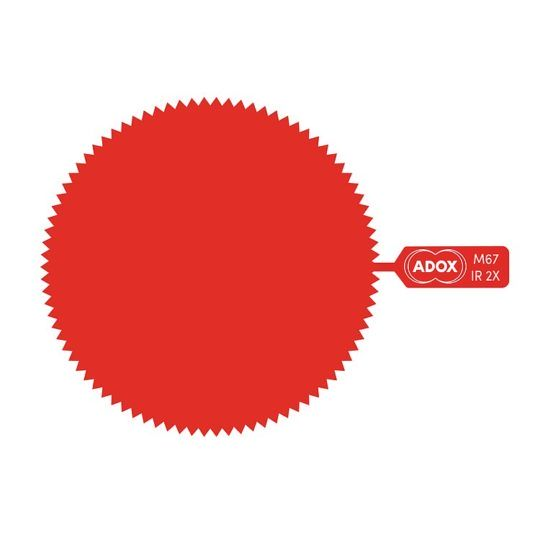 "Filtr ADOX M46 ""SNAP-ON"" Gelatine Filter Infrared"