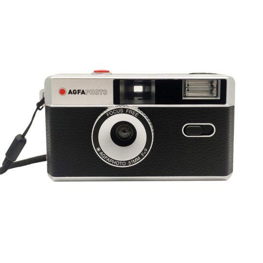 Aparat fotograficzny Agfaphoto wielokrotnego użytku czarny