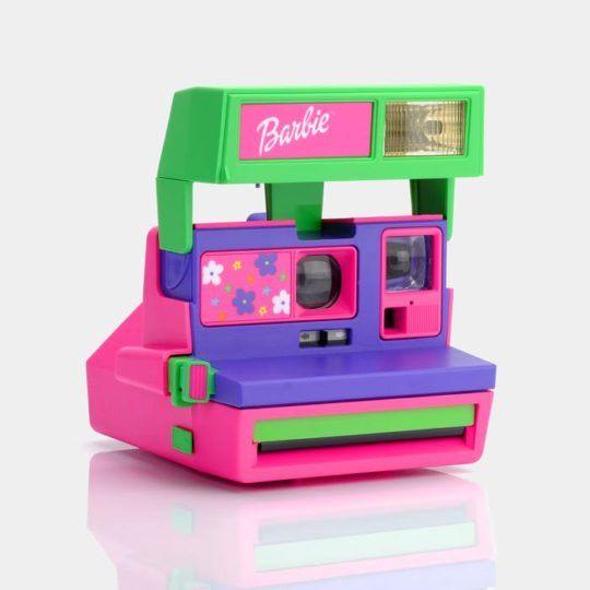 Aparat natychmiastowy Polaroid 600 Barbie