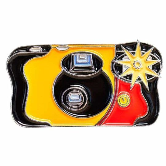 Przypinka Flashing Disposable Camera #2 Pin