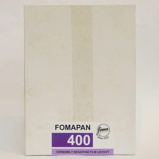 Film czarno-biały FOMAPAN 400 4x5'' / 25