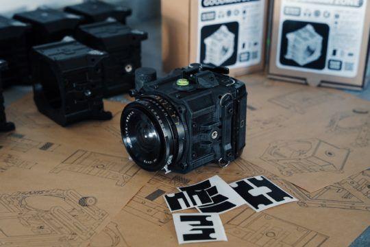 Goodman zone camera aparat średnioformatowy