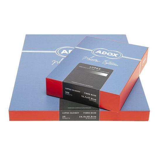 Papier Adox Lupex błyszczący 20x25 25szt