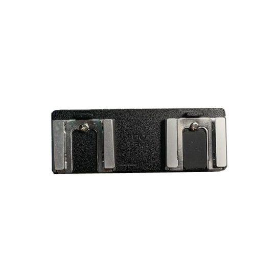 Przejściówka DOOMO MADE adapter 2 x zimna stopka czarna