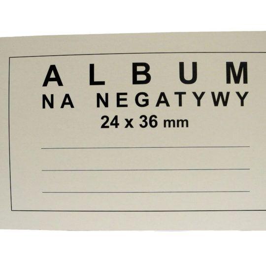 Album na negatywy 24x36mm