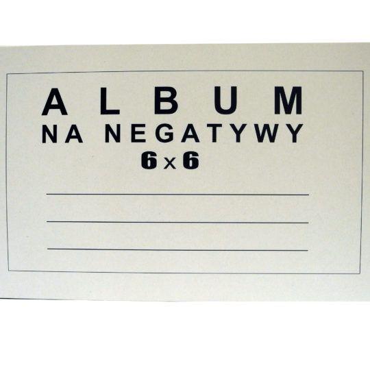 Album na negatywy 6 x 6