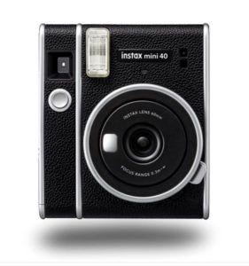 Aparat natychmiastowy Fujifilm Instax Mini 40 czarny