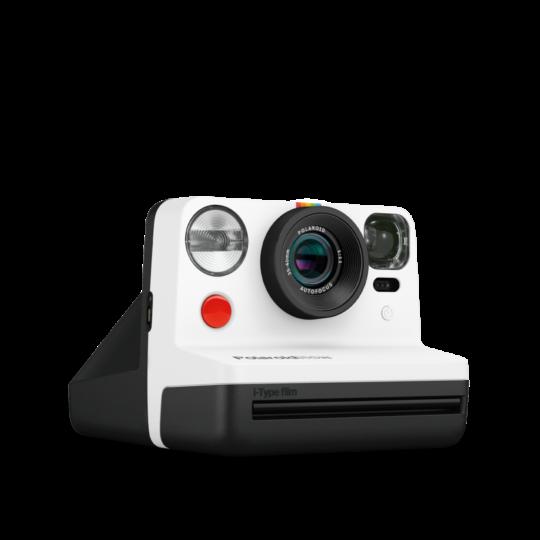 Aparat natychmiastowy Polaroid NOW biało-czarny