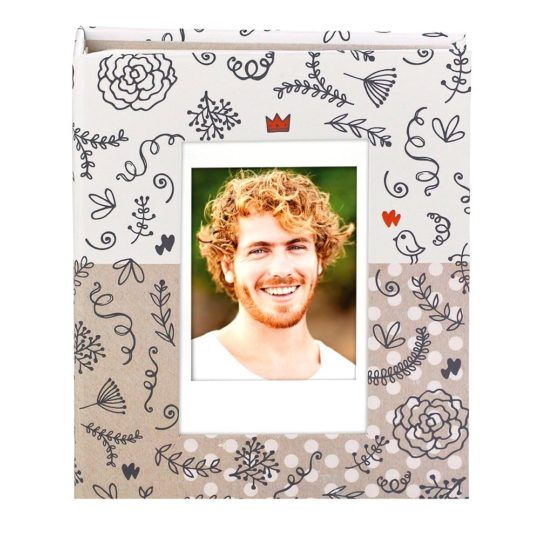 Album Instax MINI pocket album ornaments 80 zdjęć